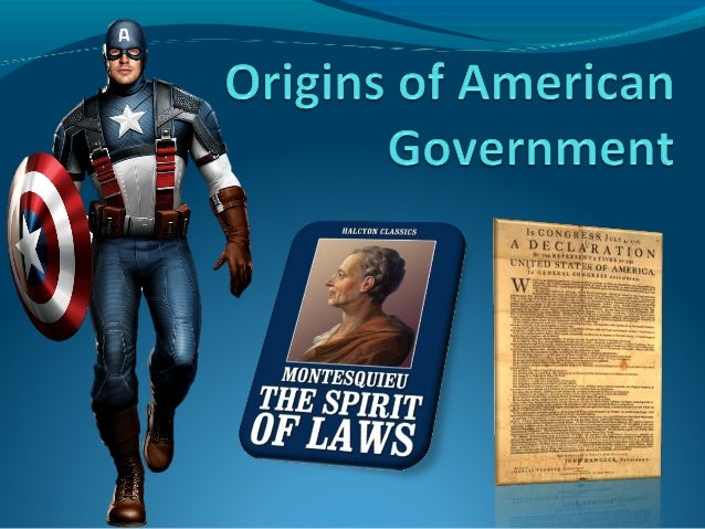 2.origins of american government