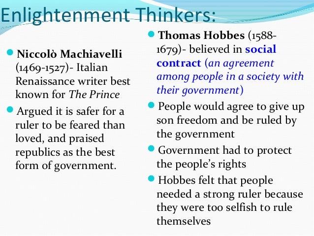 Machiavelli and rousseau