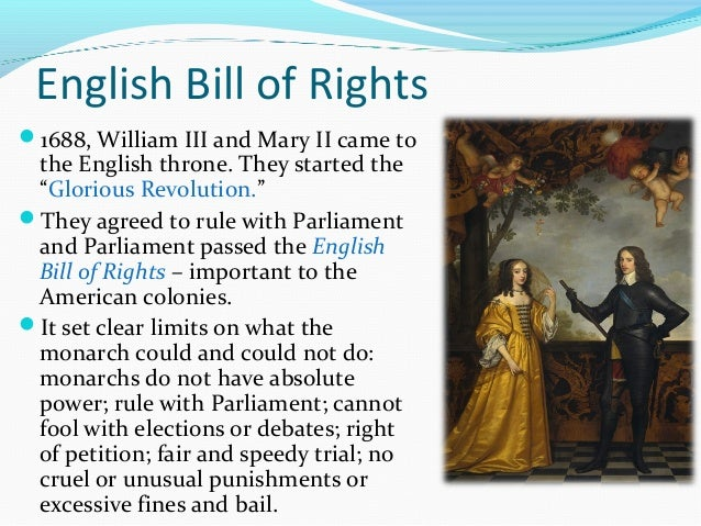 2origins of american government english bill of rights ccuart Image collections
