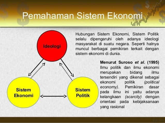 Ekonomi politik sistem perdagangan dunia