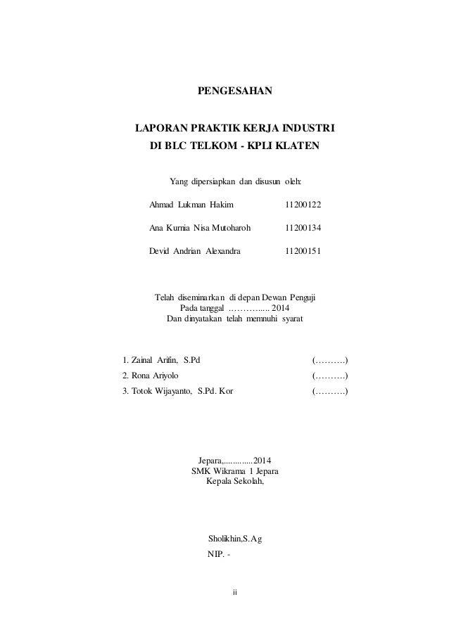2 Halaman Persetujuan Pengesahan Pengantar Daftar Isi
