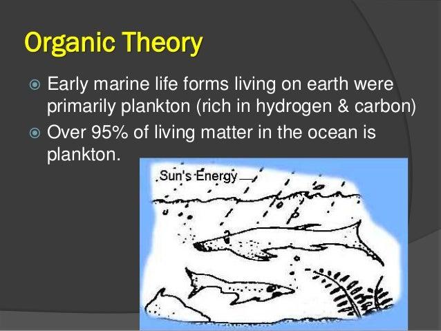 Petroleum Geology Origin Of Petroleum