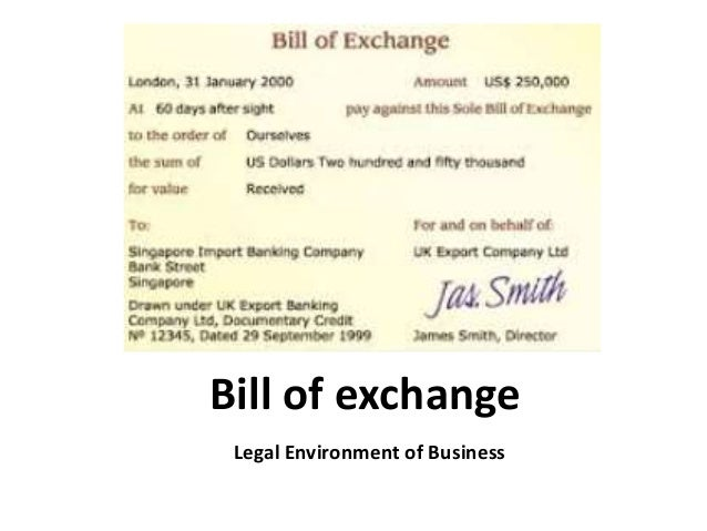 Bill of exchange legal environment of business business law man bill of exchange legal environment of business thecheapjerseys Image collections