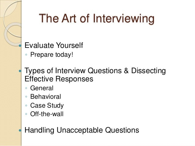 2. facing interview