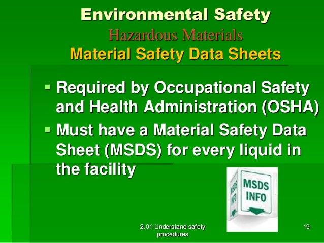 2 01 Environmental Safety