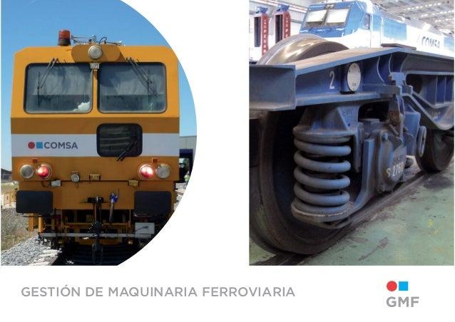 GESTIÓN DE MAQUINARIA FERROVIARIA
