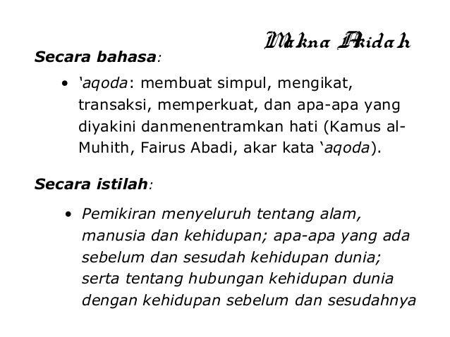 2. aqidah Mabda ISLAM  Slide 2