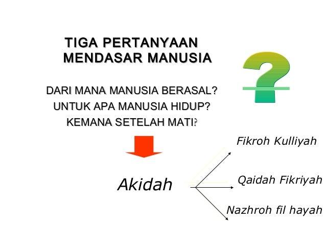 2. aqidah Mabda ISLAM  Slide 3