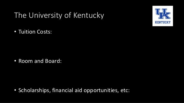 University Of Kentucky Tuition And Room And Board