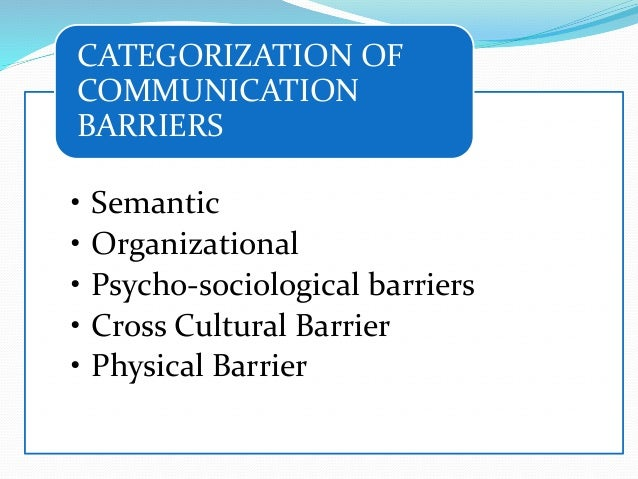 barriers of cross communication Cross-cultural communication: how culture affects communication [streaming video] retrieved from sage video  cross-cultural communication: how culture affects communication 2005, online video,  both of these can be barriers to cross-cultural communication, especially prejudice which simply closes us to trying to understand or learn more.