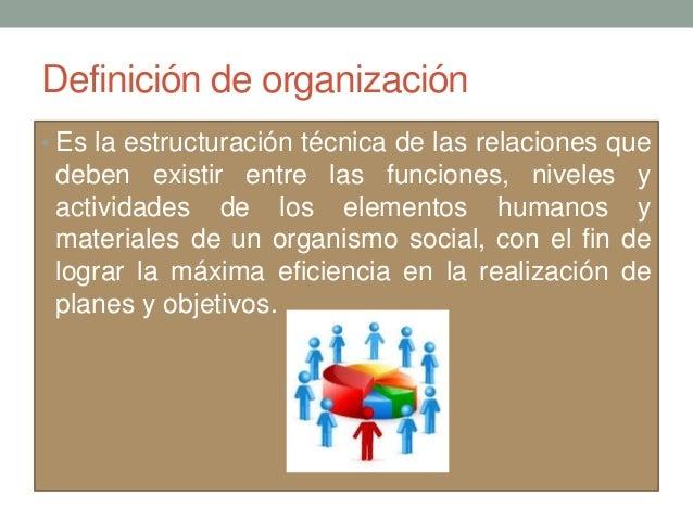 2 1 principios y conceptos de la organizaci n for Concepto de oficina y su importancia