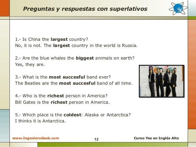 2.4 - Reglas para formar adjetivos superlativos y como ...