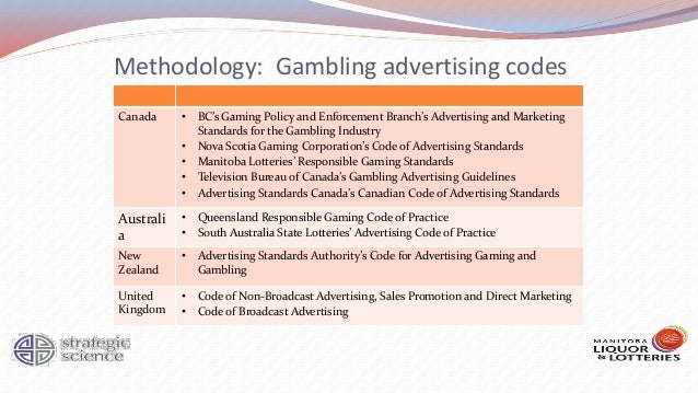 Gambling advertising regulations canada fiesta casino vegas