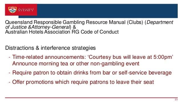Queensland responsible gambling resource manual casino euro play