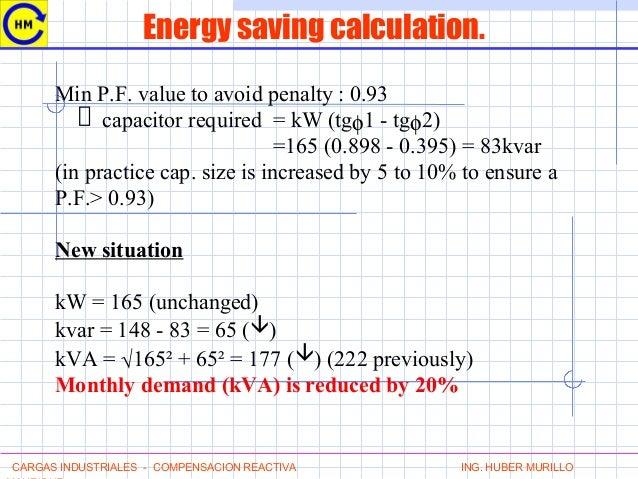 Electricity Kva Calculation