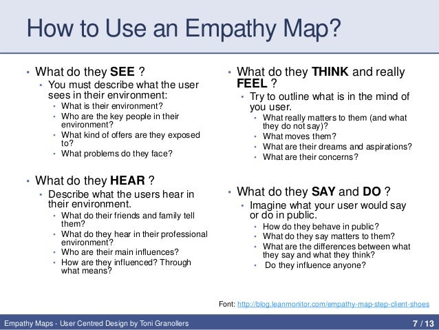 real life examples of empathy