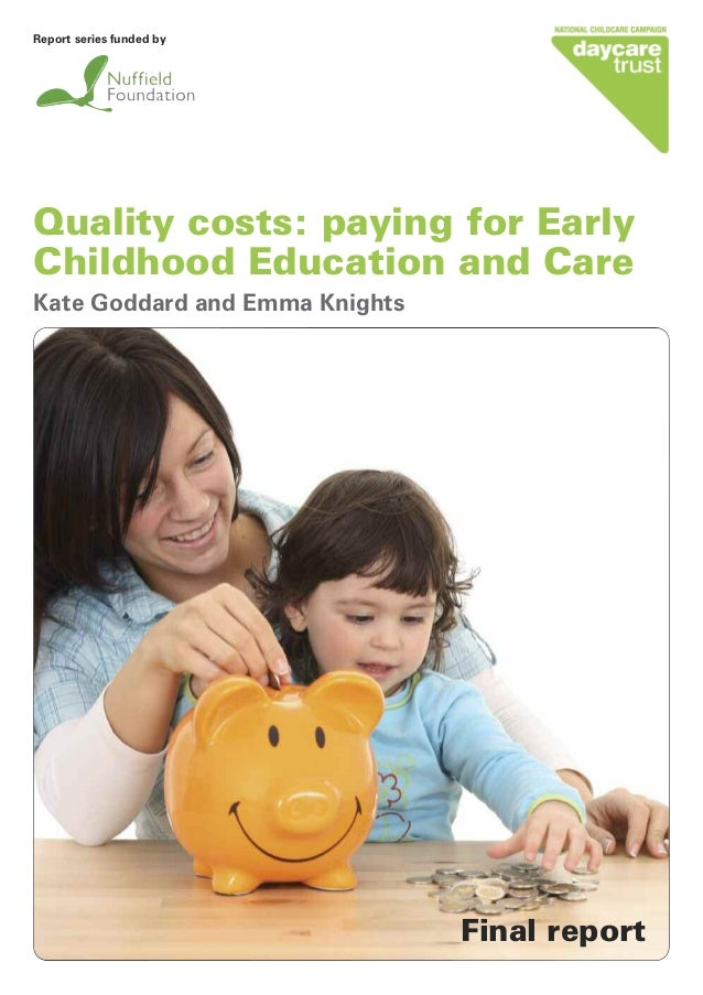 day care executive summary