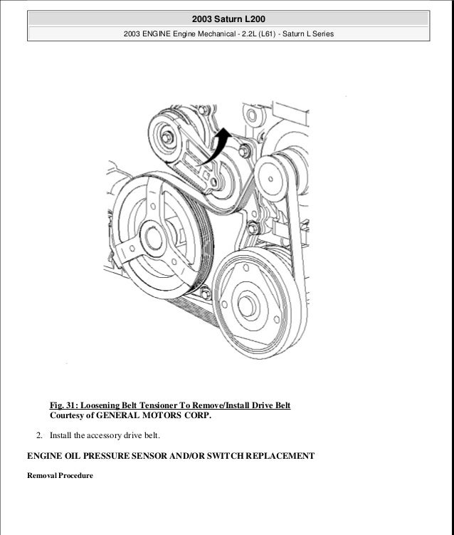 2002 Saturn L200 Engine Diagram - Wiring Diagram Article on