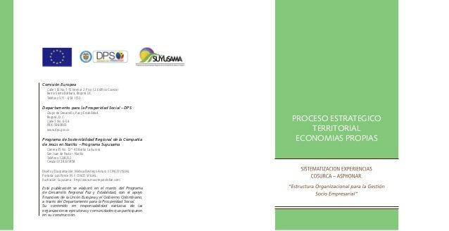 PROCESO ESTRATEGICO TERRITORIAL ECONOMIAS PROPIAS - SUYUSAMA - SI SE PUEDE Slide 2