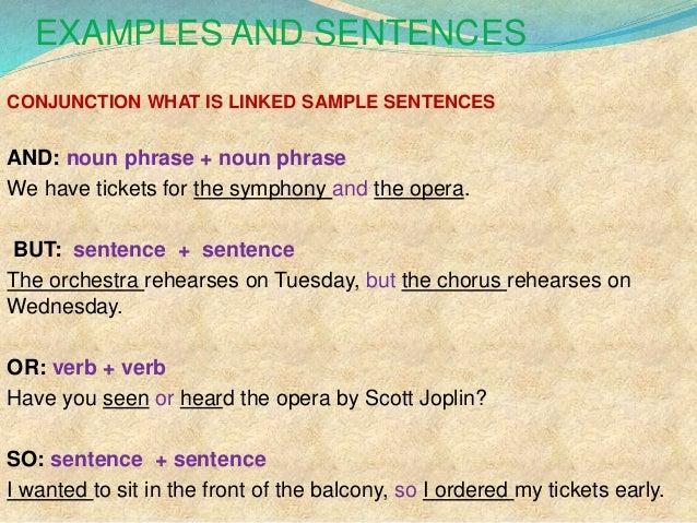 2 Coordinating Conjunctions
