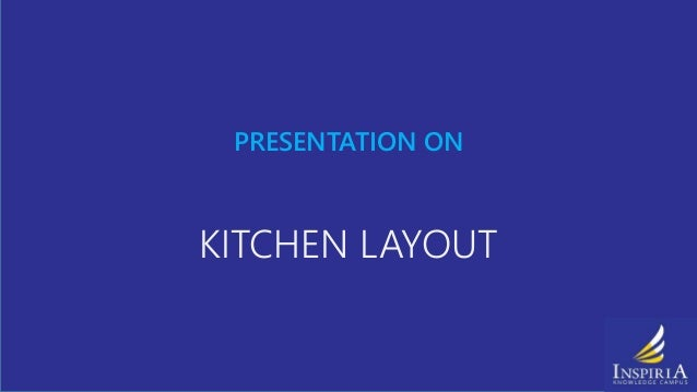 Proper Kitchen Layout Inspiration