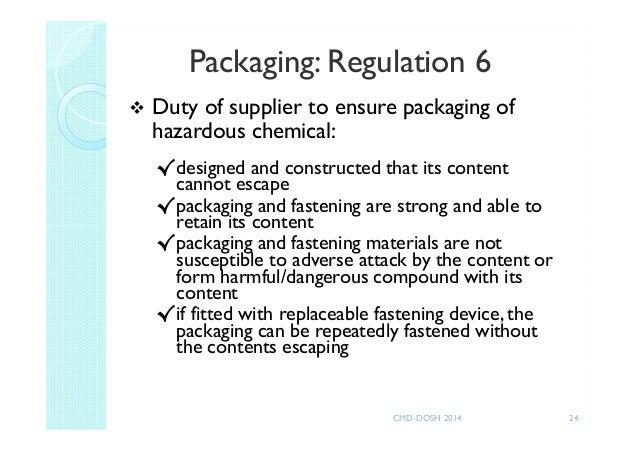 CLASS Regulation 2013