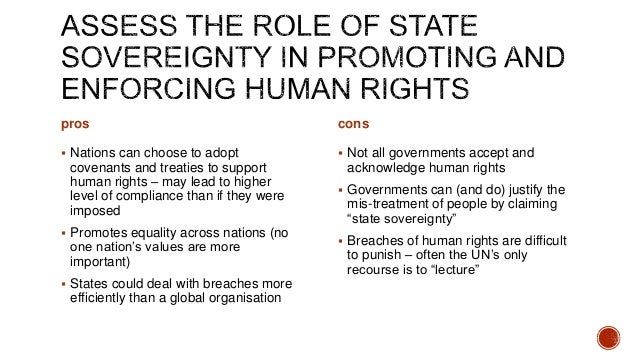 what is the importance of human rights to national sovereignty essay The doctrine of parliamentary sovereignty rationalised by dicey states that parliament has fundamental norm of parliamentary sovereignty law public essay though compliant with the idea of parliamentary sovereignty, lacks reality human rights act 1998.