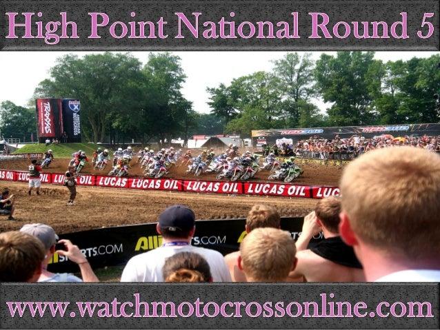 High Pot National Round 5  Www. watchmotocrossonline. com
