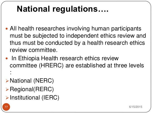 international ethical guidelines for health related research involving humans