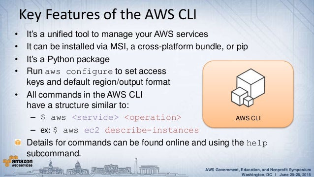AWS Power Tools: Advanced AWS CloudFormation and CLI