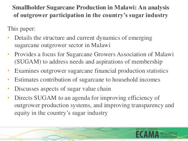 an analysis of no sugar Refining and processing sugar consumer fact sheet since the pure sugar crystals are naturally colorless, no bleaching or whitening is necessary a byproduct of the cane and beet sugar refining process is molasses which has a multitude of uses.