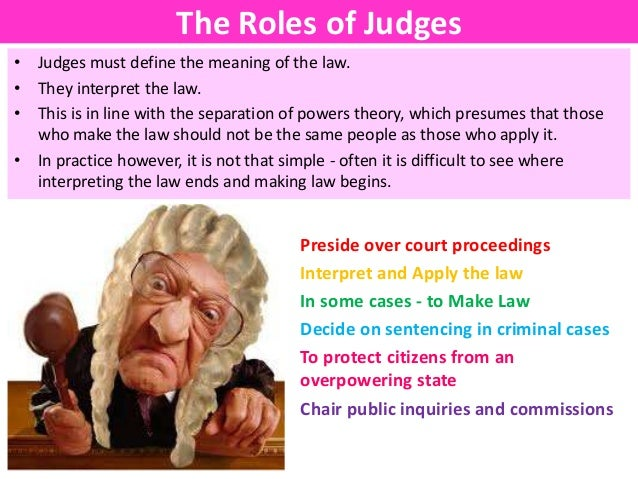 the roles and responsibilities of magistrates in england Lay people and their role in the english legal system magistrates and juries lay magistrates the uk has a rich and successful history of having lay people involved, as lay magistrates, in the judicial decision making of the courts.
