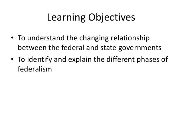 An Observation of the State-Federal Relationship: July/August 2010