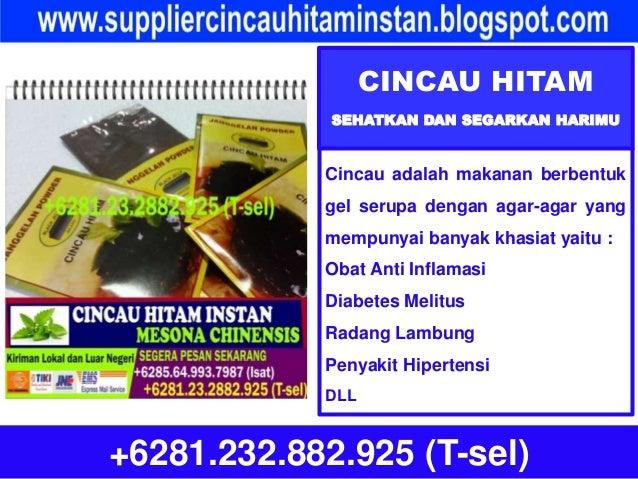 CINCAU HITAM SEHATKAN DAN SEGARKAN HARIMU +6281.232.882.925 (T-sel) Cincau adalah makanan berbentuk gel serupa dengan agar...