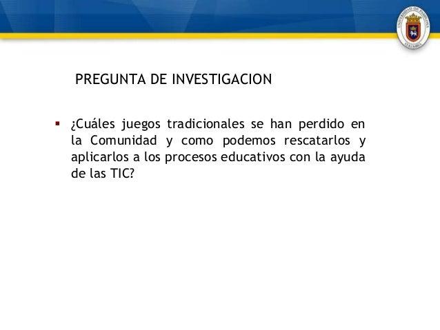 Antecedentes Del Proyecto De Investigacion La Magia De Los Juegos