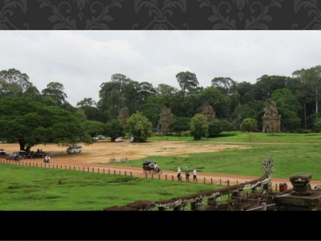 Terraza De Los Elefantes Angkor Thom