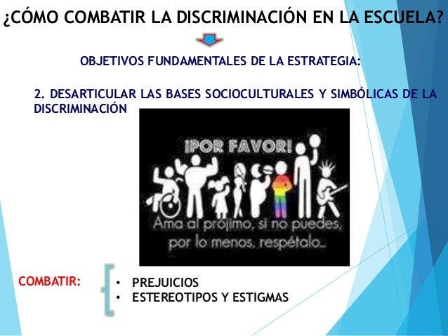 La discriminaci n en la escuela - Como combatir la condensacion ...