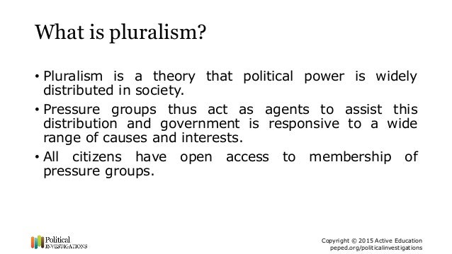 Pluralism and Democratic Participation: What Kind of Citizen are Citizens Invited to be?