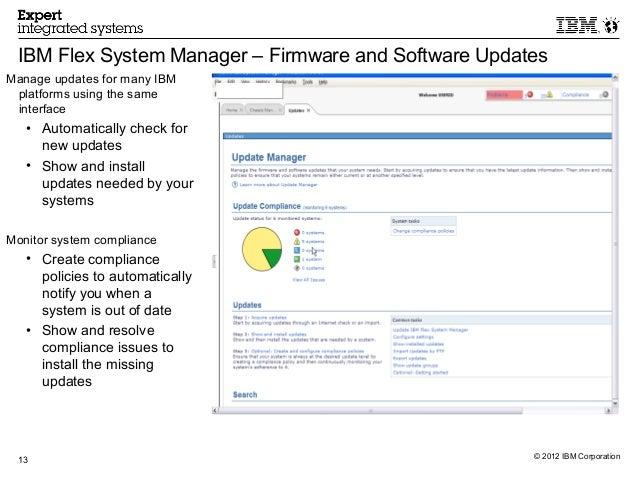 2 ibm flex system manager overview rh slideshare net IBM Converged Infrastructure IBM Flex Chassis