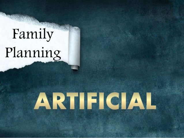 Natural Family Planning Vs Artificial Family Planning