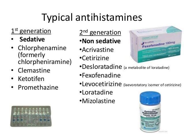 Sedating antihistamines for cough