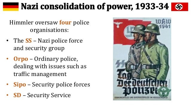nazi consolidation of power due to terror and violence The anti-jewish violence in poland from 1944 to 1946 refers to a series of violent incidents in poland that immediately followed the end of world war ii in europe and.