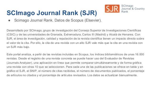 Otros indicios de calidad ESCI ● Si una revista no tiene Factor de Impacto, hay que consultar el Master List de la Web of ...