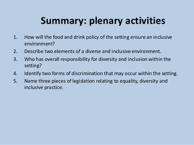 identify which legislation and codes of practice relating to equality diversity and discrimination a Making the difference: diversity and inclusion  reported levels of discrimination are highest for black employees and lowest for white employees all other non.
