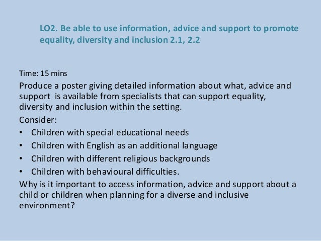 How to Promote Equality & Diversity in the Classroom