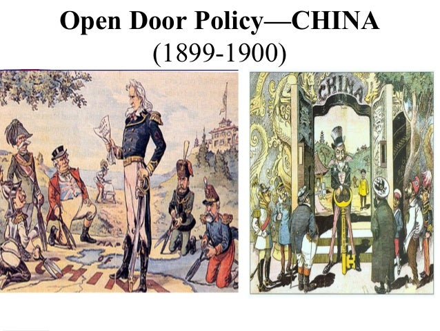 open door policy 1899 political cartoon 94491 homeup