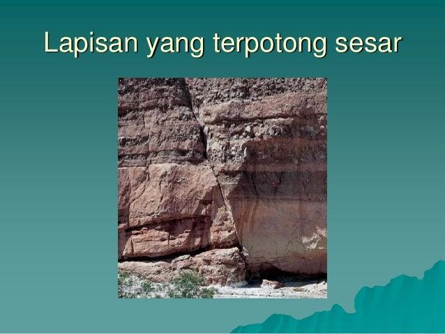 materi kuliah teknik pertambangan   geologi struktur