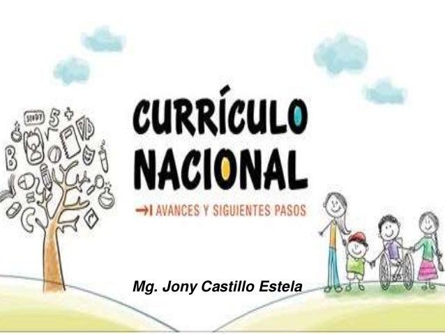 Mg. Jony Castillo Estela