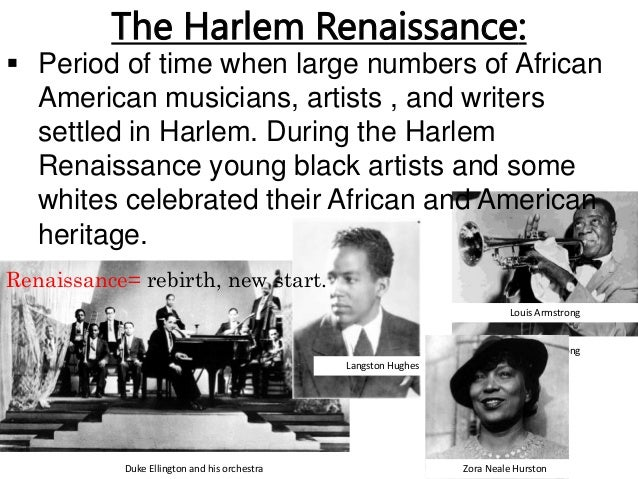 a description of the harlem renaissance of the 1920s as great time for black artists For african-americans the 1920s were an exciting time from new york emerged  the great flowering of black culture that came to be known as the harlem  renaissance  and no visual artist expressed the movement's euphoric sense  of possibility better than the painter, illustrator and muralist aaron.