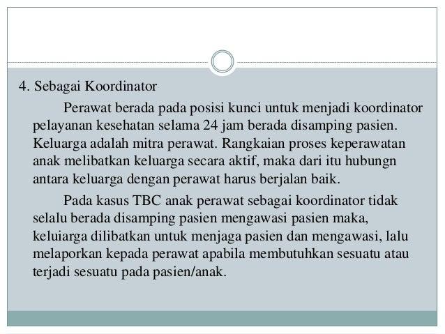 Peran Perawat Pada Anak Tbc